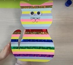 Photo of Аплікація «Смугасте кошеня»