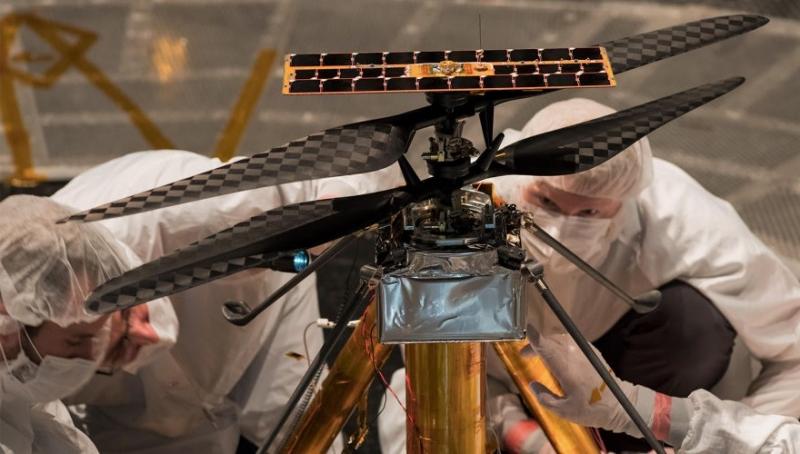 Photo of На Марсі пройде перший політ керованого вертольоту